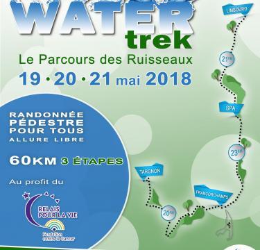 Balade répartie sur 3 jours (3 x 20 km); à découvrir absolument , en partie ou en totalité :-) au profit du Relais pour la Vie de Verviers